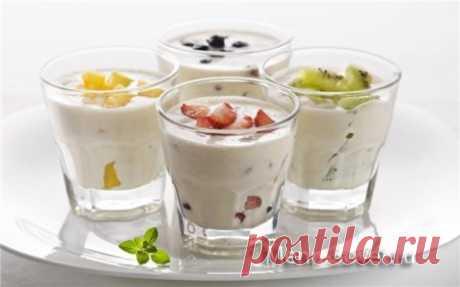 О пользе йогурта