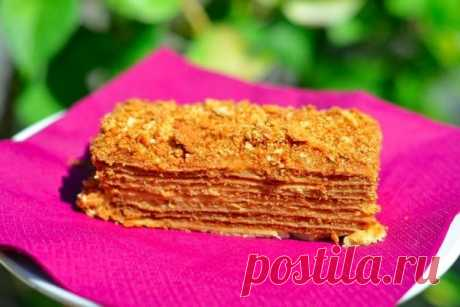 Торт «Наполеон» | Школа шеф-повара