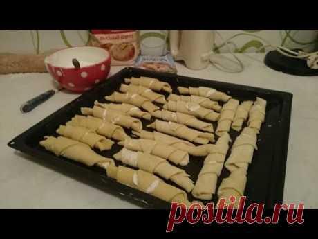 Песочное печенье Рецепт выпечки Рогалики как приготовить вкусно пошагово классический быстро видео - YouTube