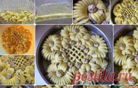 60 способов умопомрачительного украшения домашней выпечки! Многие любят вкусную домашнюю выпечку их дрожжевого теста . Пироги становятся еще вкуснее и аппетитнее если они красиво украшены . Такой резной пирог украсит любой праздничный стол и будет по достоинс…
