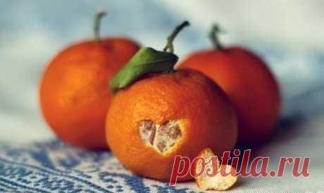 В кожуре мандаринов - огромная польза!.
