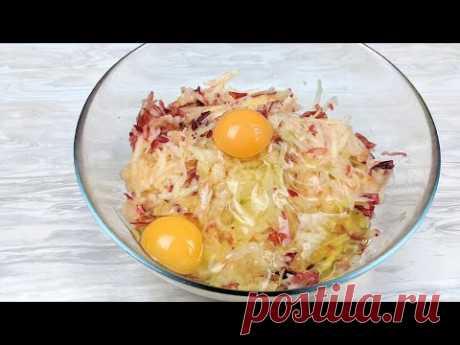 В яблоки добавляю яйца и готовлю крутое блюдо! All ingenious SIMPLY. SUPER..
