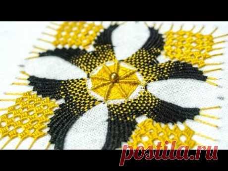 Hand Embroidery Designs: Bordado DIY Tutorial | HandiWorks#115 - YouTube