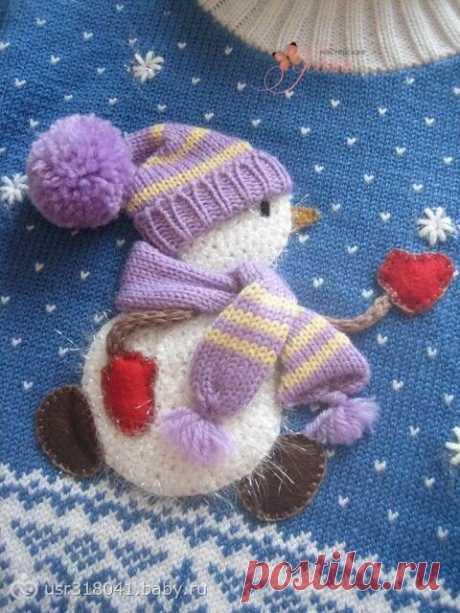 Интересное оформление вязаной одежды для детей. Подборка идей.   Handmade для всех   Яндекс Дзен