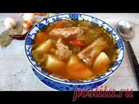 Как вы думаете это настоящая шурпа, классический рецепт шурпы или просто суп со свининой?