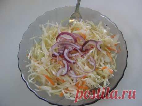 Капустный салат. Маринкины творинки