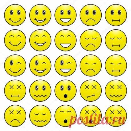 Картинки смайлики эмоций (35 фото) ⭐ Забавник