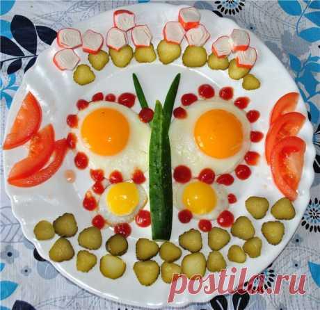 Яичница и омлет — разнообразим — Чудеса