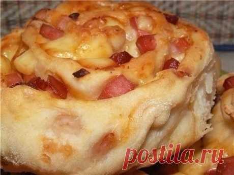 Как приготовить пиццы-розочки - рецепт, ингредиенты и фотографии