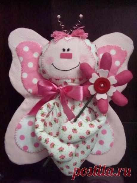 Кукла бабочка (выкройки)