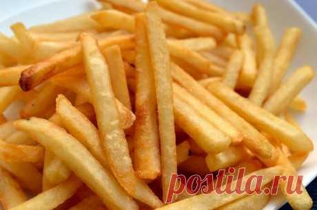 Картошка Фри без капли масла, жира и яичных белков. Все намного проще. Можно готовить хоть каждый день | Будни обычной женщины | Яндекс Дзен