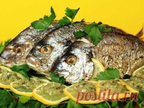 Dorado - (más de 14 recetas) de la foto en Овкусе.ру