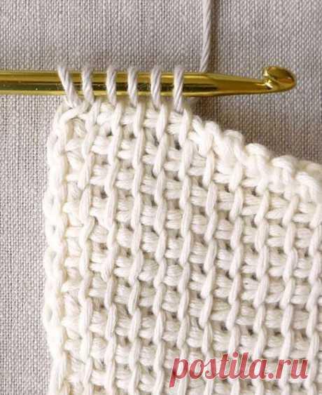 Тунисское вязание – основы и практика