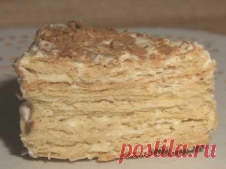Тортик со сгущенкой