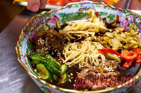 Корейский холодный суп Кукси – гениальное блюдо-конструктор | Вкусные рецепты