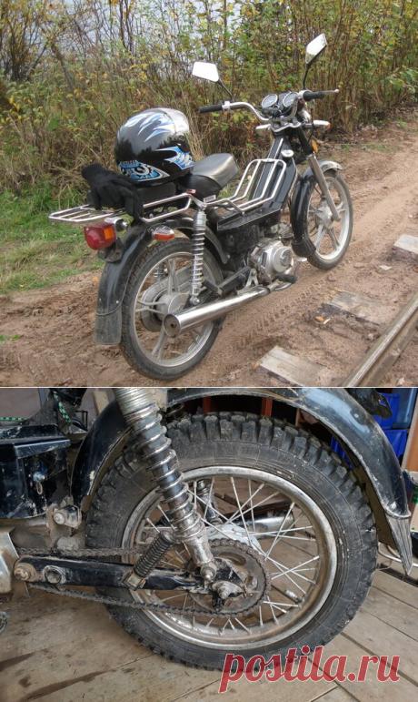 Улучшаем проходимость мопеда. Колёса от мотоцикла. | AvtoTechLife | Яндекс Дзен