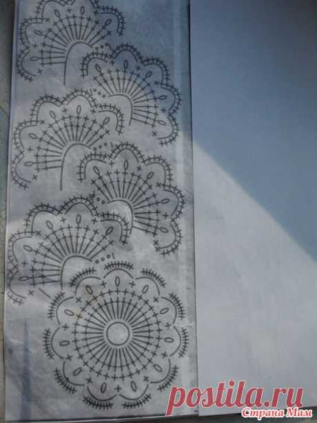 . A white top tape lace - Knitting - the Country of Mothers