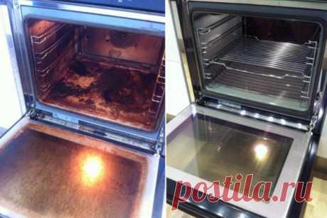 Наконец-то! Найден до смешного простой способ очистить духовку до блеска! Сколько приходилось мучиться с этим – и все было неправильно! - interesno.win