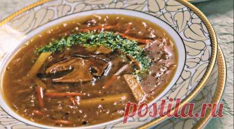 Los shchi magros – nacional el plato de la cocina rusa — las recetas Sabrosas
