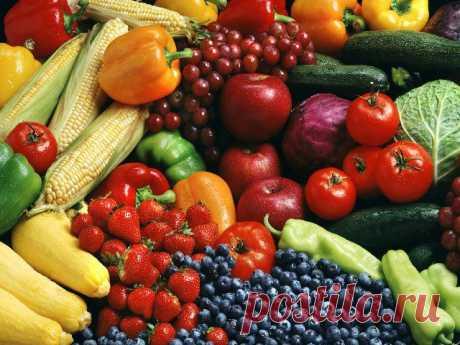 Как избавиться от химии на фруктах и овощах.