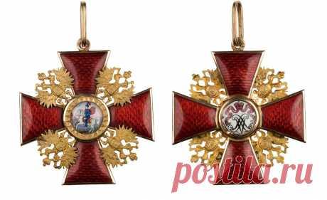 Главные ордена Российской империи