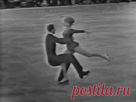 Tatiana Tarasova & Georgi Proskurin - 1965 Europeans LP
