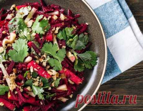 Салат из свеклы и кинзы - рецепт приготовления с фото от Maggi.ru