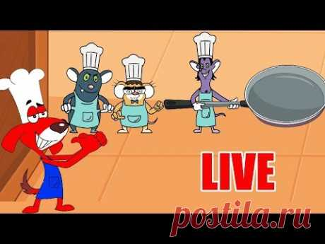 Rat-A-Tat |'LIVE - Cooking Competition + 7 Cartoon Episodes'| Chotoonz Kids Funny Cartoon Videos