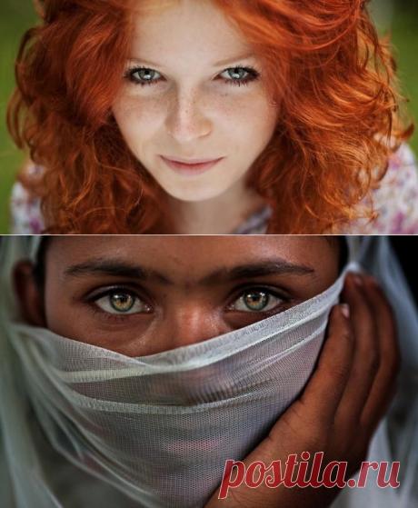 20 портретов, которые смотрят прямо в душу