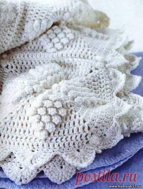 Одеяло в викторианском стиле