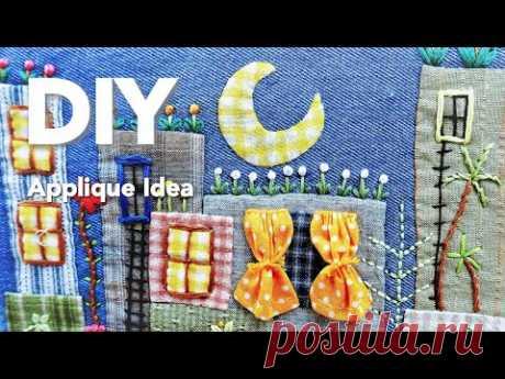 Hand Stitch Applique   Dreaming of a City ┃Fantasy-themed applique #HandyMumLin