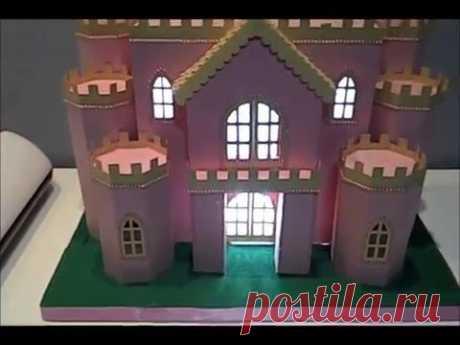 PAP Montagem Castelo Scrapbook