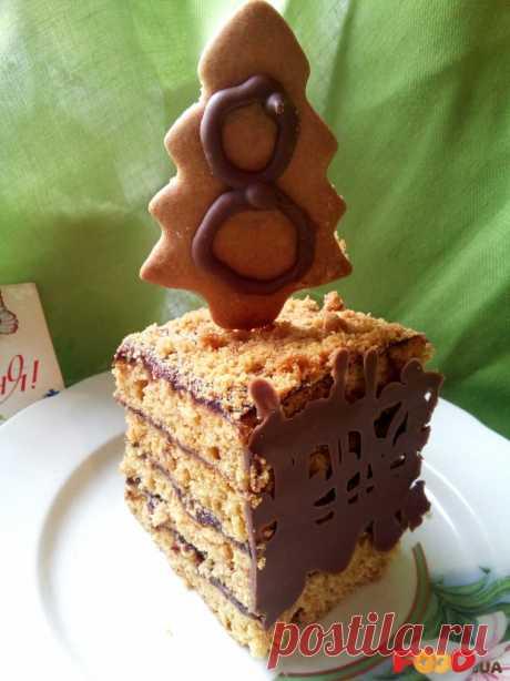 """Медовый торт """"Проще некуда"""" - Кулинарные рецепты на Food.ua"""
