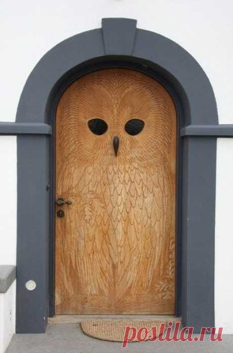 """Входная дверь """"Сова"""""""