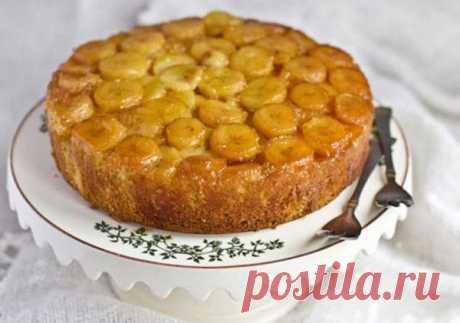 Рецепт бананового пирога со сметаной - Великий повар - пошаговые фоторецепты