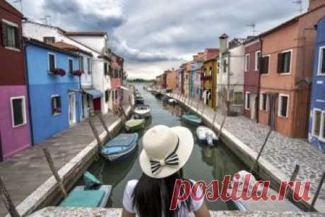 Остров Бурано в Венеции!