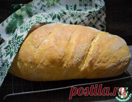 Белый хлеб в рукаве – кулинарный рецепт