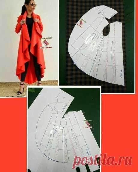 Моделирование жакета-накидки — Сделай сам, идеи для творчества - DIY Ideas