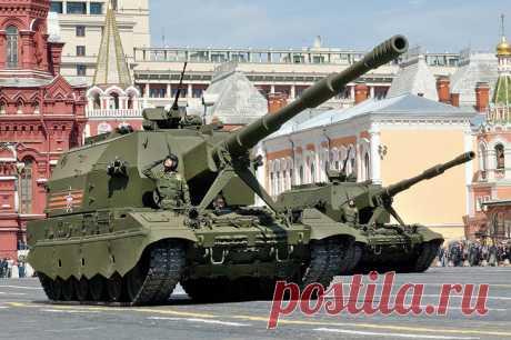 2021 январь. Российская самоходная артиллерийская установка «Коалиция-СВ» показала в ходе испытаний способность вести стрельбу в режиме «шквал огня» и поразила цель одновременно шестью снарядами. Гаубица калибром 152 мм предназначена для поражения целей на дальности до 70 км и обладает высокой скорострельностью для такого типа самоходок — более 10 выстрелов в минуту. Боевые возможности «Коалиции-СВ» в два раза превышают все существующие отечественные и зарубежные образцы
