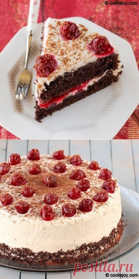 """La torta """"Черный лес"""""""