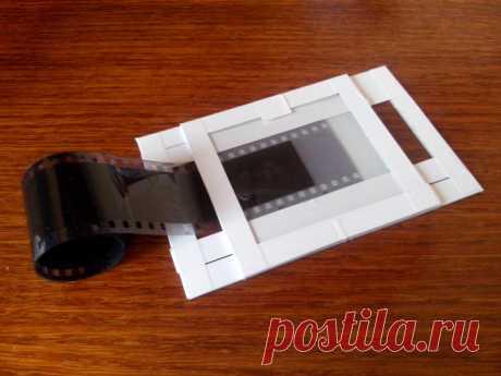 Сканирование старой фотоплёнки