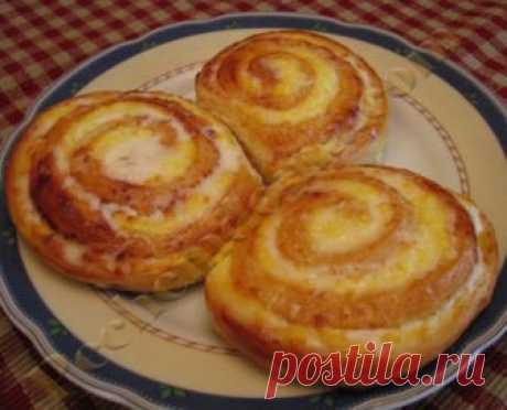 Творожные завитушки в сметанной заливке Рецепты домашней выпечки от Ирины Хлебниковой