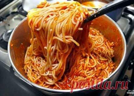 Подлива к макаронам: Топ-9 простых рецептов | Домашняя еда | Яндекс Дзен