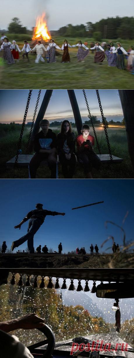 Свадьба без гламура: потрясающий фотопроект об одном из главных торжеств в жизни российской глубинки / Туристический спутник