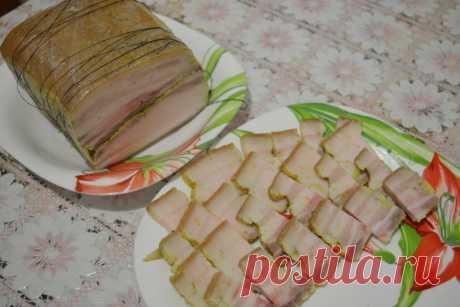 Солено-вареное сало – просто, вкусно, быстро | Кастрюлька | Яндекс Дзен