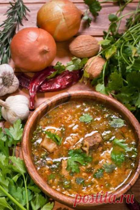 Суп харчо | Рецепты супа харчо | Как приготовить харчо вкусно | Волшебная Eда.ру
