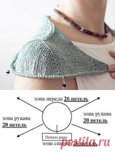 Два способа вязания сверху вниз без швов: реглан и имитация вшивного рукава (подборка уроков)