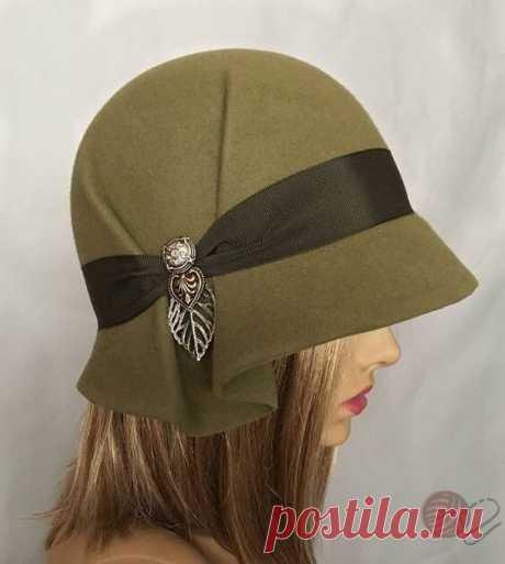 Выкройки элегантных шляпок