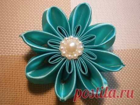 Kanzasha's flower Video master class. \/ DIY Flowers