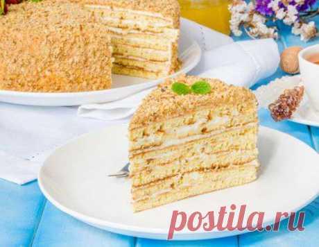 Торт медовик - рецепт приготовления с фото от Maggi.ru